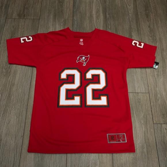 NFL Doug Martin 22 Tampa Bay Bucs Red Youth Jersey